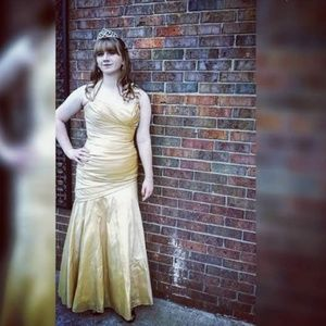 Golden Prom/Pageant Dress